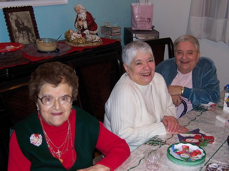 Aunt Naj and sisters